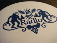 Bar「Radio」で ストローハットとXYZとお猿さんモチーフのその訳