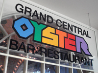 「GRAND CENTRAL OYSTER BAR」品川で カキたま丼牡蠣フライ