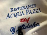 RISTORANTE「ACQUA PAZZA」で 日高シェフなす春香のフーガ
