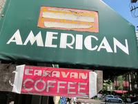 喫茶「AMERICAN」で どどどんと迫るタマゴサンドの雄姿に挑む