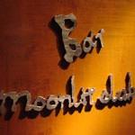 Bar「moonlit club」で 束の間のGrappa2杯で酔っ払い