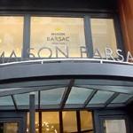 フレンチ・カフェ「MAISON BARSAC」で マグロほほリングイネ