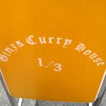 カレーハウス「GINZA CURRY HOUSE 1/3」で カツカレー