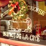 RESTAURANT「BISTORT DE LA CITE」で シテ丼
