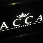 RISTORANTE「ACCA」で 黒鮑のリゾットこのこのフェットチーネ