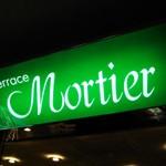 レストラン「Terrace Mortier」