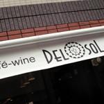 cafe-wine「DEL SOL」で シーフードクリーム煮プレート