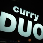 CURRY「DUO」で 辛口チキンカレームホホDUOやってます