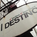 Cucina Casalinga「il DESTINO」で ジェノバソースのパスタ