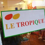 Tropical fruit Cafe「LE TROPICQUE」で トロピックパフェ