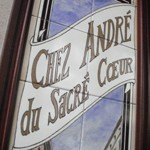 Cafe Bistro「CHEZ ANDRE」で シューファルシとママンの笑顔