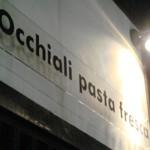 生パスタ専門店「Occhiali pasta fresca」でカキタベ!生パスタ
