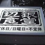 NUCHIGUSHI CUISINE「辺銀食堂」でテツメシコースと島餃子