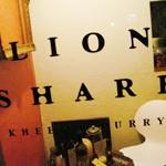 KHEEMA CURRY「LION SHARE」でドライキーマとチキンカリー