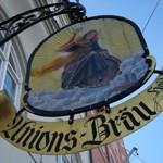 Biergarten「Unions Bräu」で 蔵の麦酒とクセなき雄鹿のロースト
