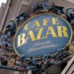 Café「BAZAR」で片手にTrumerホースラディッシュでFrankfurter