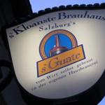 s'Kloane Brauhaus「Kastners Schenke」で Spargel大地の恵み