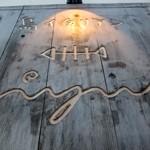 島イタリアン「いゆ」で 夜光貝のアーリオオーリオ島のもろみ豚