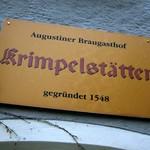 伝統料理酒場「Krimpelstätter」でレバー団子スープ鹿肉ロースト