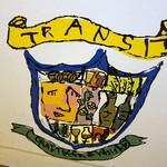 Craft Beer Bar「TRANSIT」で 乗換駅旗の台踏切前のカウンター