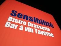 BISTRO「サンシビリテ」で仔羊の背肉香草風味と青森産バルバリー鴨ローストの夜