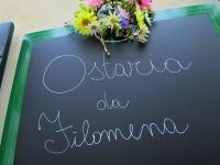 Osteria「Da Filomena」で時計塔見上げるオープンエアの白ワインの心地よさ