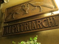 BarTaverna「PATRIARCHI」で満月の夜VECCHIA ROMAGNAとRON ZACAPA