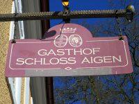 GASTHOF「SCHLOSS AIGEN」でフィレ肉タルタルパイクパーチのメダイヨン