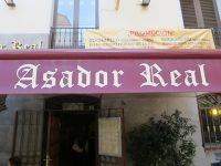 Restaurante「Asador Real」で極上のイベリコベジョータ王立劇場のある街角にて