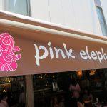 タイ料理「pink elephant」でガパオにソフトシェルクラブ玉子カレー炒めピンクの象